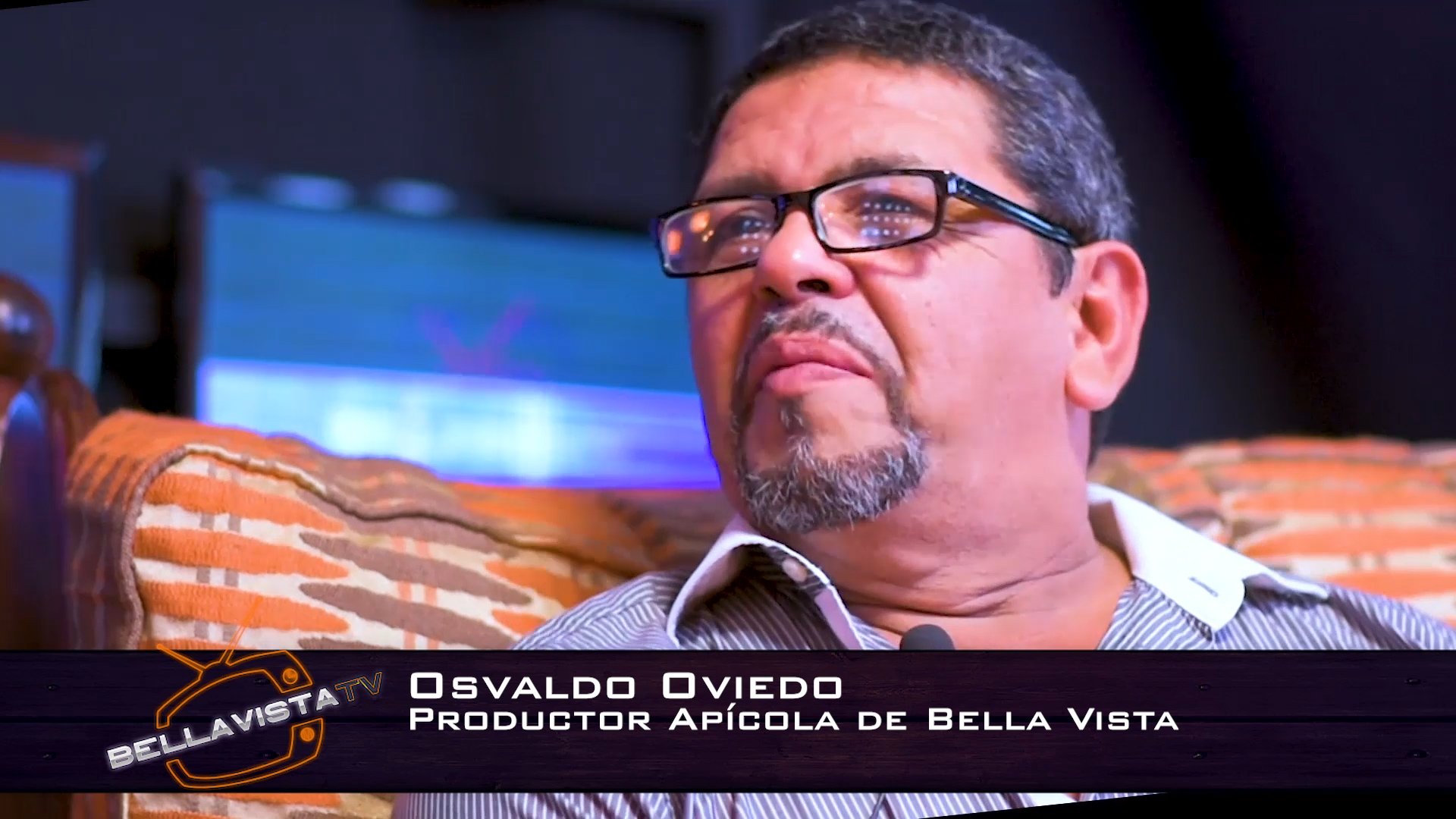 Osvaldo Oviedo en Bella Vista TV
